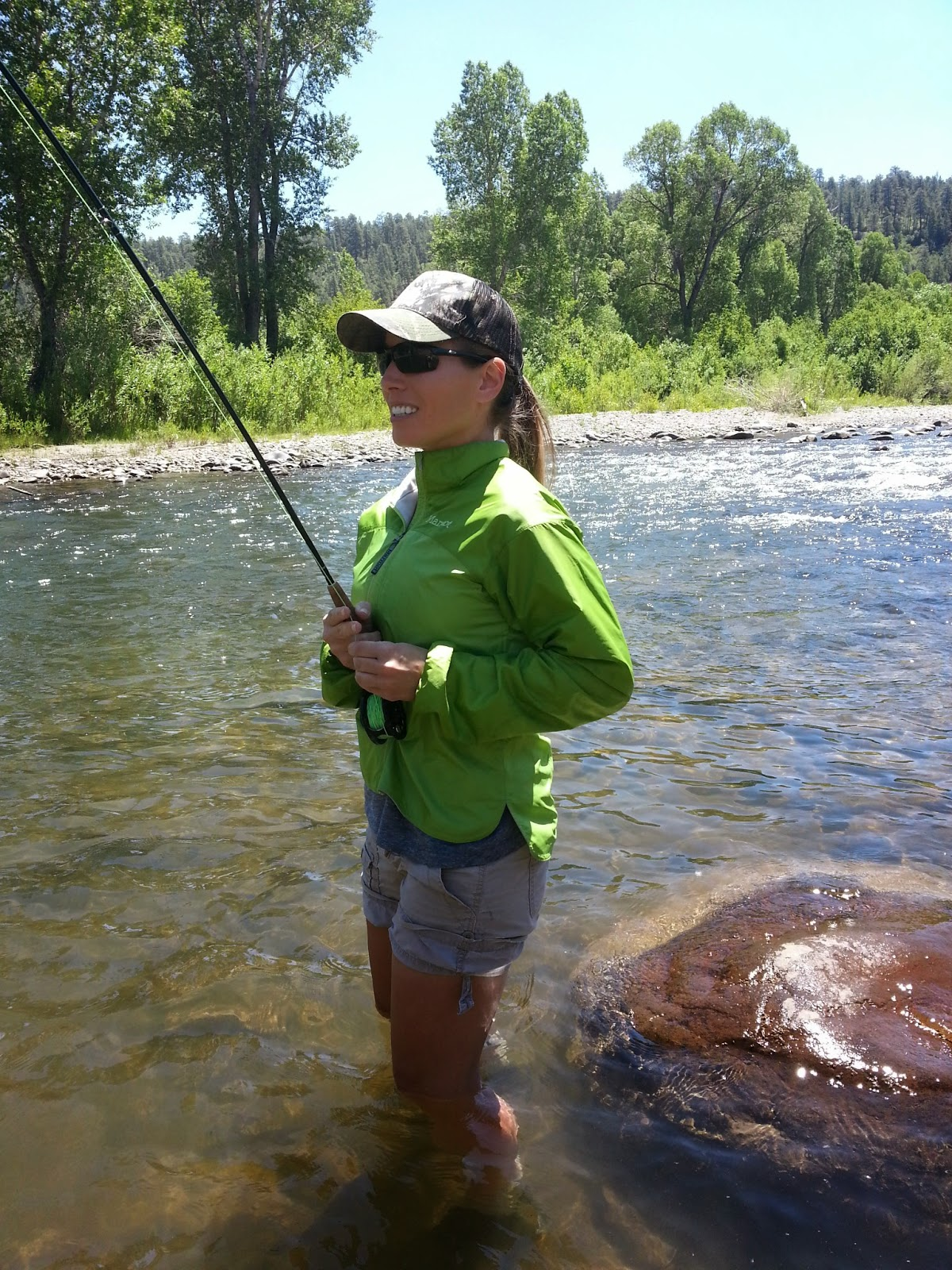 The san juan river fly fishing report pagosa springs co for Colorado fishing trips