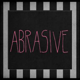 [abrasive]