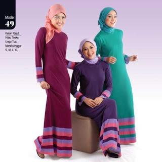 Gambar Baju Gamis Muslim