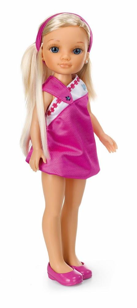 JUGUETES -  NANCY - Muñeca Nancy Decora su Vestido : Rosa  Producto Oficial | Famosa 700011269 | Edad: + 3 años