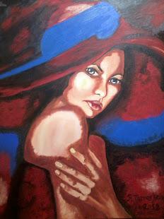 Dama de rojo