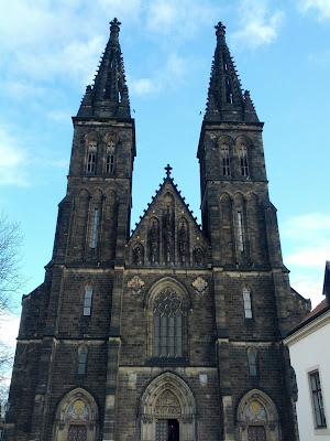 The Basilica of St Peter and St Paul, Vyšehrad, Prague