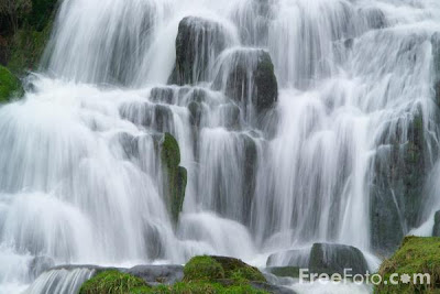 Beauty of  Waterfall