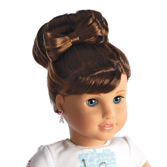 Hairstyles For American Girl Doll Grace Thomas How To Do American - Doll hairstyles for grace