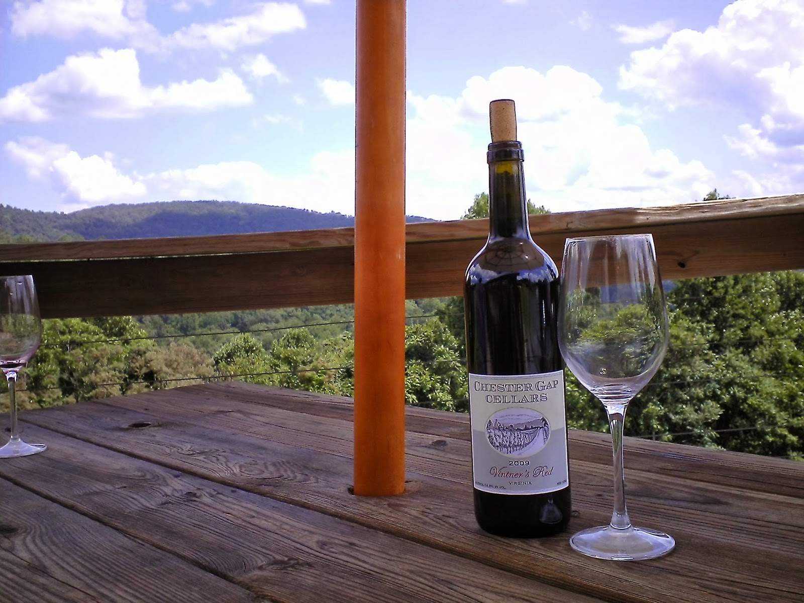 As the case with wineries in the valleys many other locations in Virginia offer fantastic views from the mountains and hilltops. Other favorites are listed ... & VIRGINIA WINE NOTEBOOK: Three Great Views: Looking Down