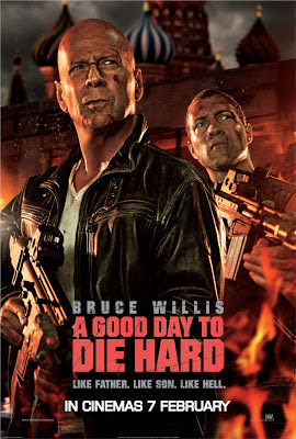 Good Day To Die Hard 5 film 2013 movie poster large