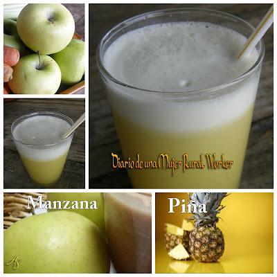 Jugo de Manzana y Piña