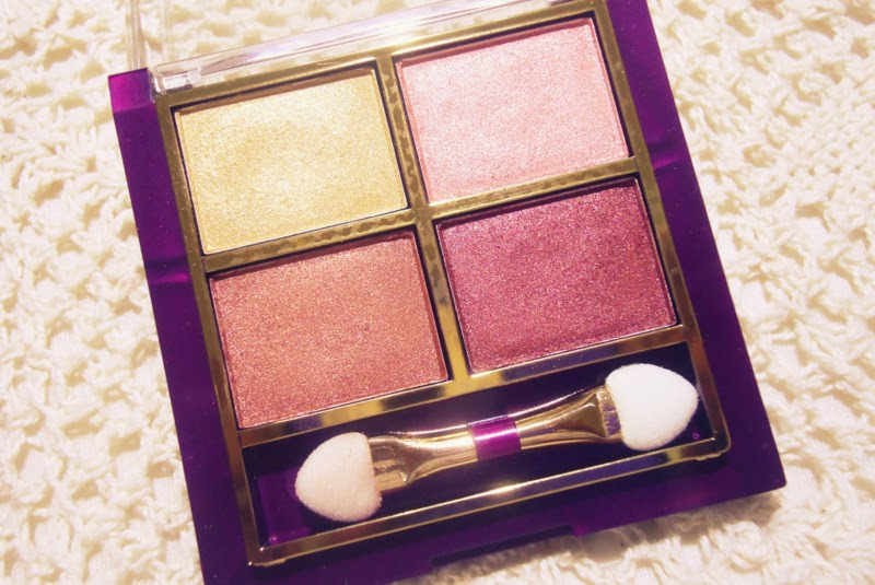I haven't tried Lakme eye shadows in big numbers just very few! The lakme quartet in desert rose came in my Lakme styling kit last year.