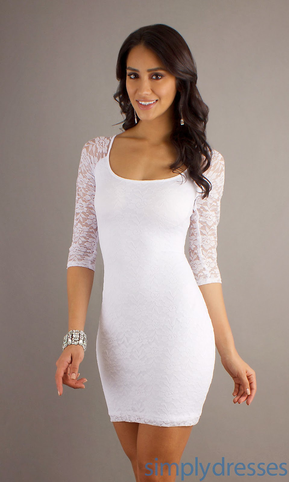 All White Dresses For Women