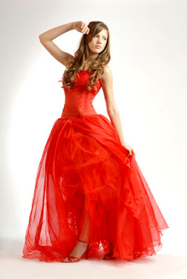 vestido de 15 anos vermelho
