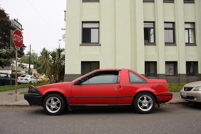 1988 Nissan Pulsar NX.