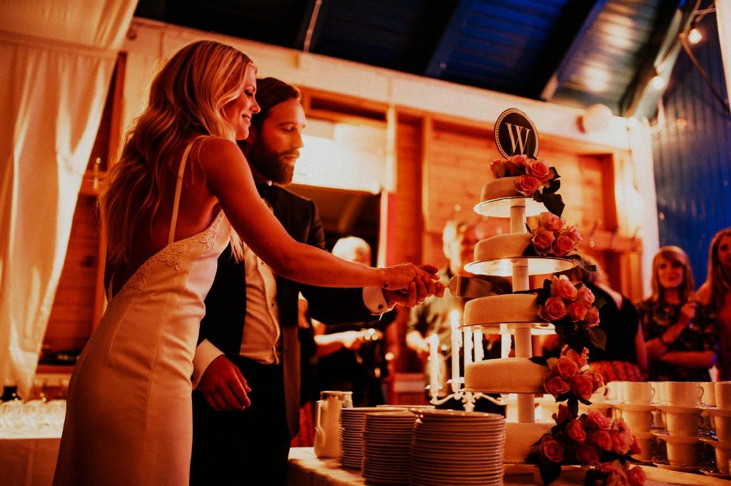 Bröllopstårta i Värnamo folkpark