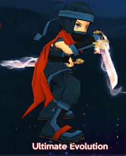 Kage Ninja Hero Evolution & Weapon Evolution