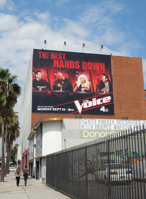 Voice season 3 billboard