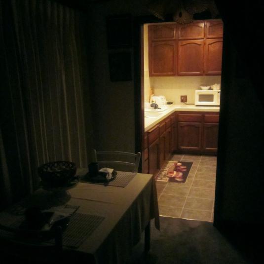 Dark Kitchen At Night paideia: in darkness