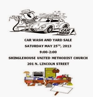 5-25 Car Wash Yard Sale