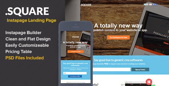 Premium Marketing Landing Page