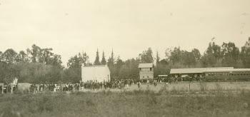 Vista de la Estación de Ferrocarril. Rodeo del Medio