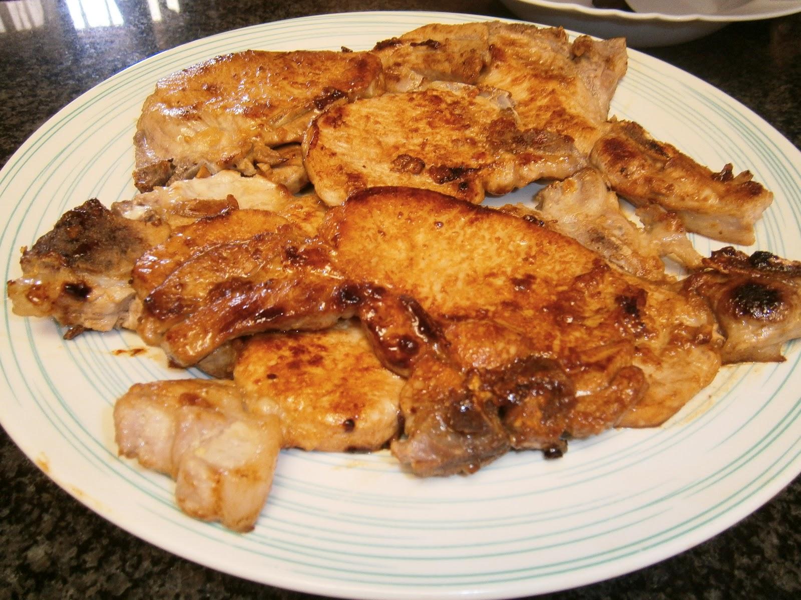Cocinar f cil y r pido chuletas de cerdo en salsa agridulce for Cocinar berenjenas facil