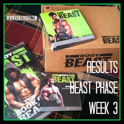 Woman's Body Beast Results