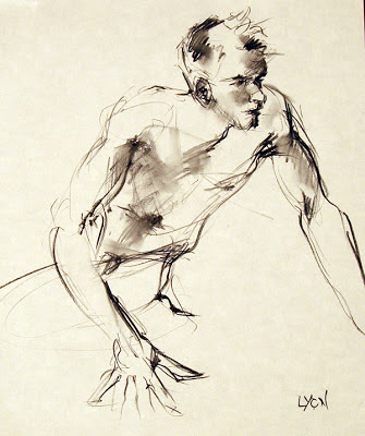 gesture drawing by Shannon Reynolds