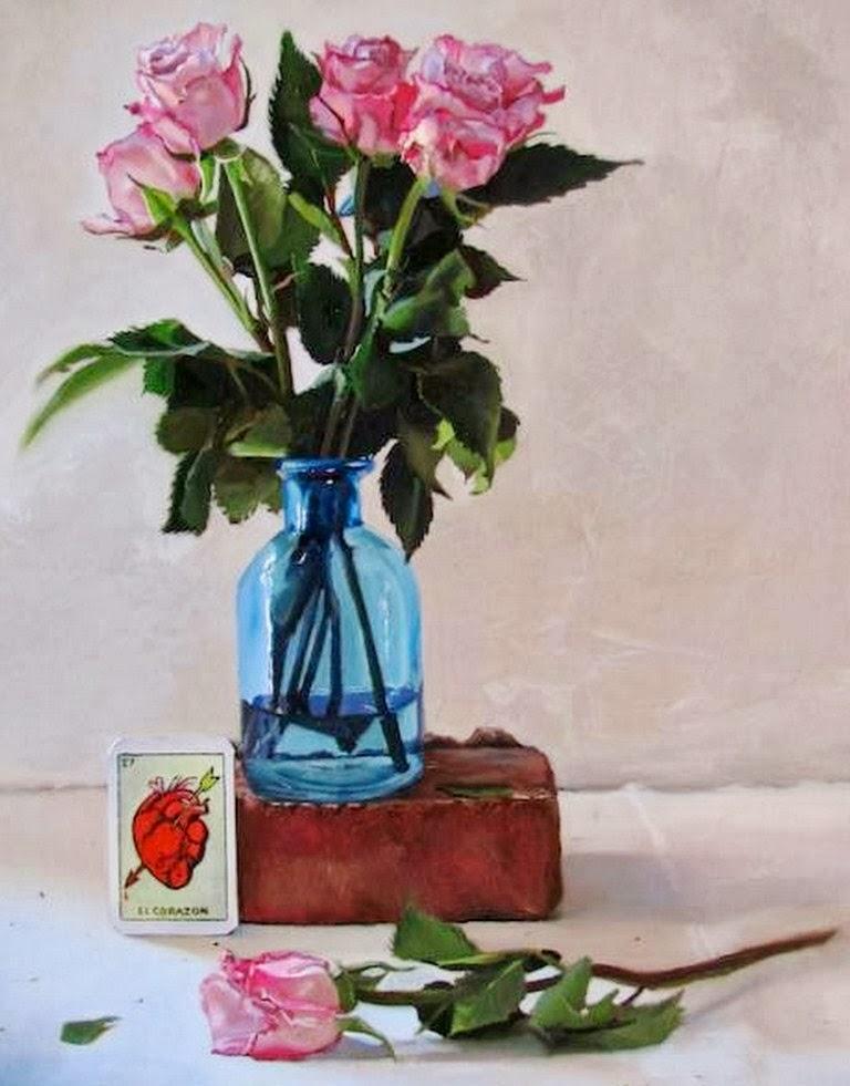 Pinturas de Flores y frutas