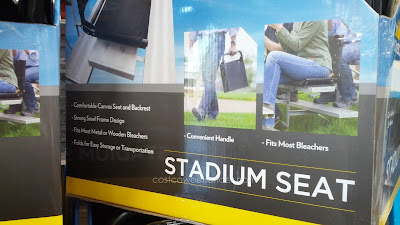 Cascade Mountain Tech Stadium Seat gives you a soft surface to sit on