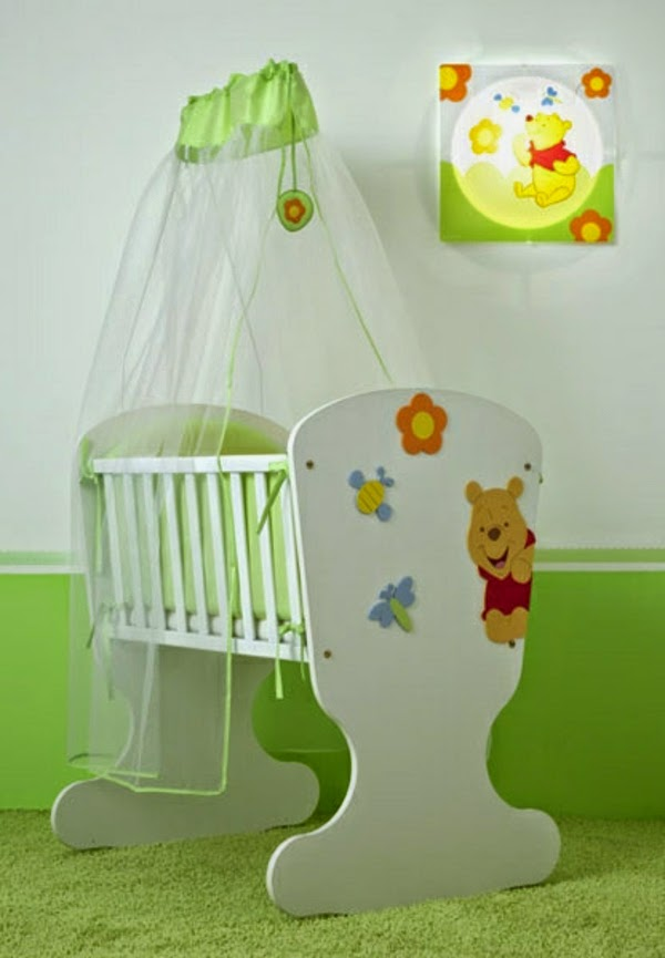 15 ultra modern baby room ideas furniture and designs for Simple nursery design