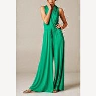 Casual Afternoon Stroll Jumpsuit-Green