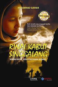 """Novel """" Rinai Kabut Singgalang """"."""