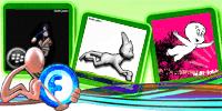 Animations Display Picture – Chun Lee Kick – Cat Running – The Casper | gif | Blackberry Messenger Avatar | Fadli Jabir | Blackberry animasi | Funny Cartoons | Blackberry Animations