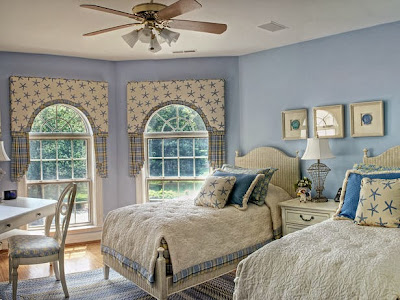 HGTV nautical guest bedrooms