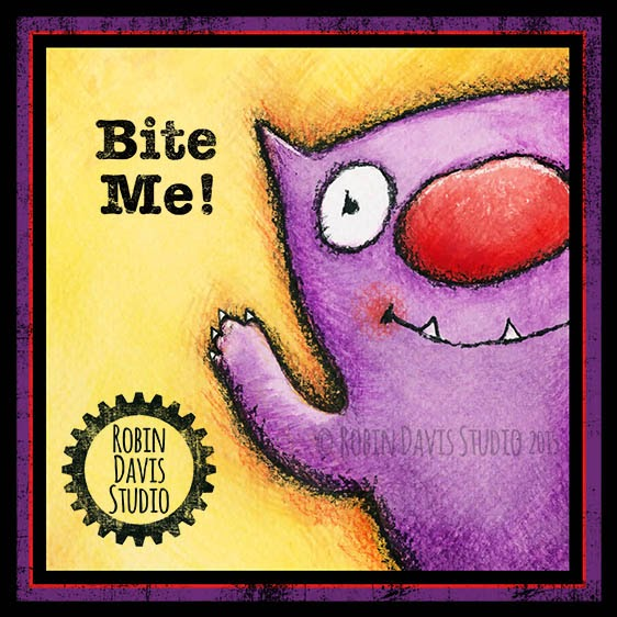 Bite Me Monster - Robin Davis Studio