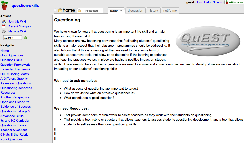 Cooperative Clusters Classroom Design Definition : Ict lrn cluster questioning resources