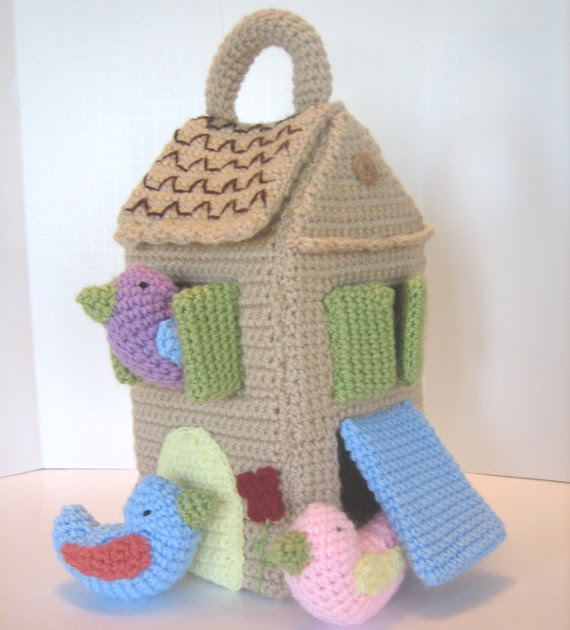 CROCHET N PLAY DESIGNS: New Crochet Pattern: Home Tweet Home