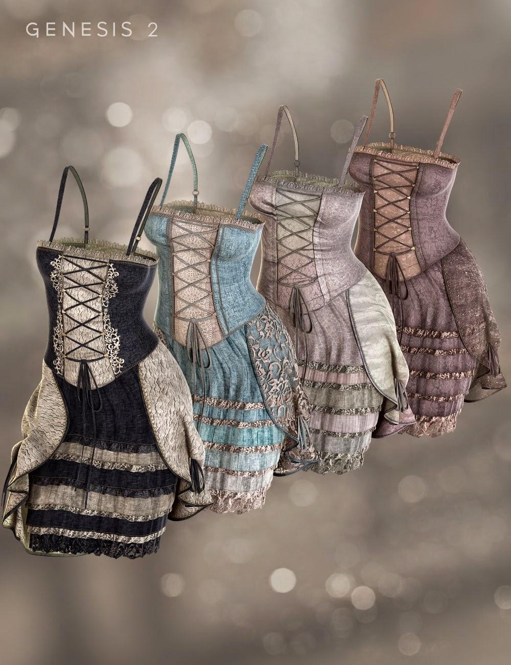 Francesca Robe Textures