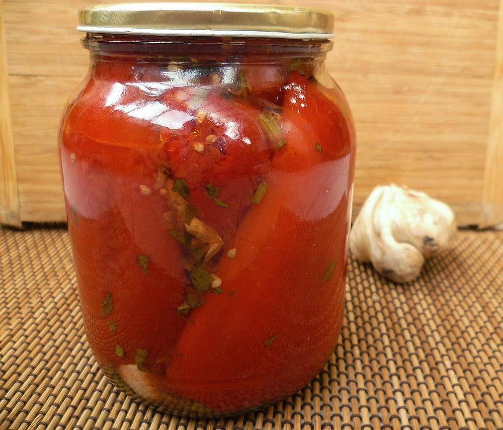 Парена капия в доматен сос