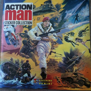 Action Man Sticker Collection album cover