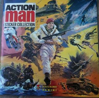 Action Man Sticker Collection album cover