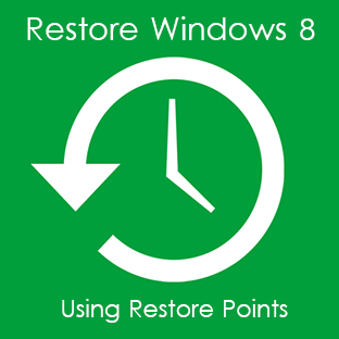 restore system with restore points