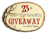 23th Birthday Giveaway by MisEyz Blurz