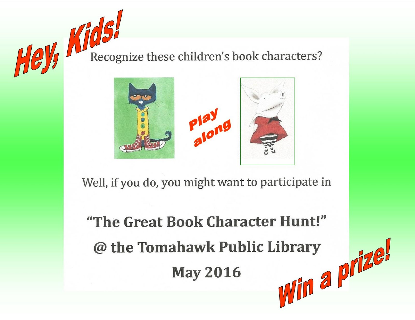 CHILDREN's BOOK WEEK is going to be a MONTH-LONG!!!