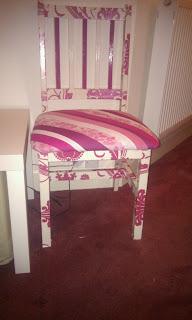 krzesło decoupage inspiracje
