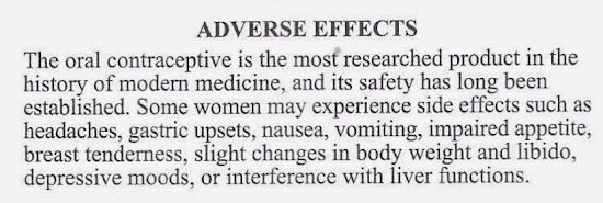 Adverse effect of Trust Pill