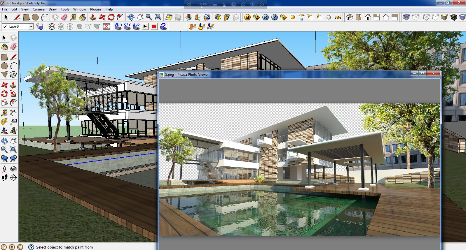 Sketchup Texture Tutorial Vray Water Render In Sketchup
