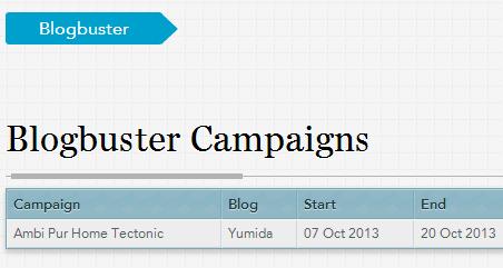 Terima email dari Nuffnang: Kempen Blogbuster, ambi pur