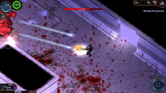 Alien Shooter 2 PC Games Gameplay