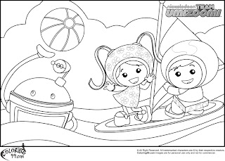 team umizoomi coloring pages printable free