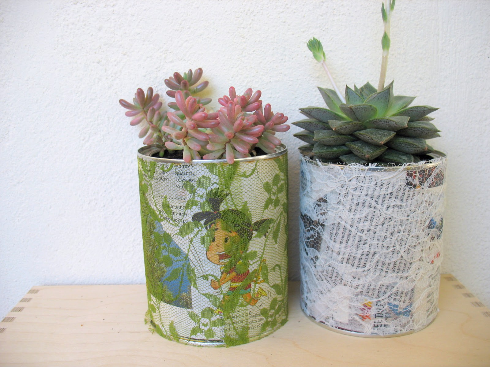 Diy recycling project flower pot from tin cans ef zin for Flower pot making with waste material