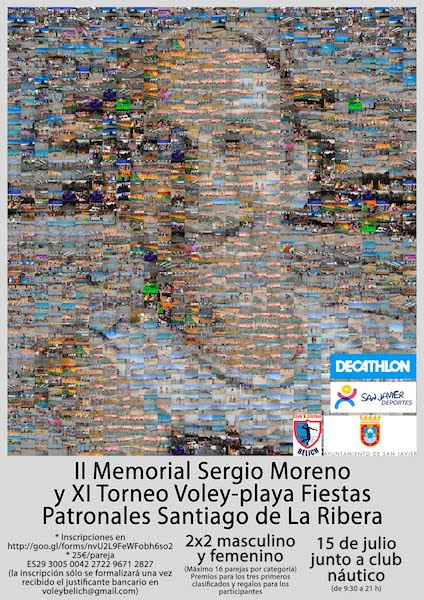 Voley Playa. II Memorial Sergio Moreno